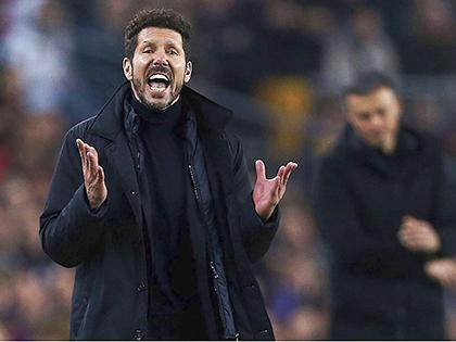 Atletico: Hết bài thật rồi, Simeone!
