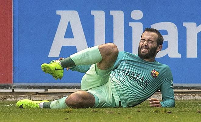 Nghiệt ngã quá, Aleix Vidal!