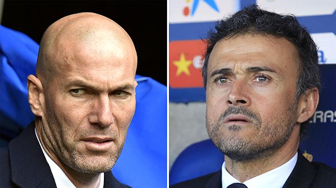 Real Madrid: Zidane đang học hỏi Enrique?