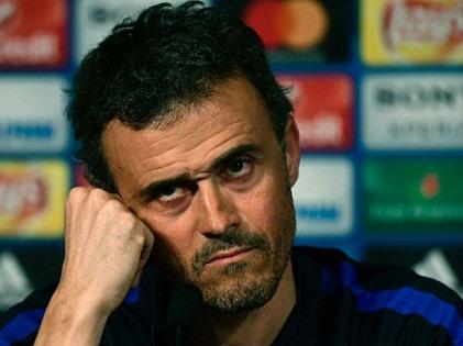 NÓNG: Luis Enrique nổi cơn thịnh nộ với phóng viên sau trận thua PSG
