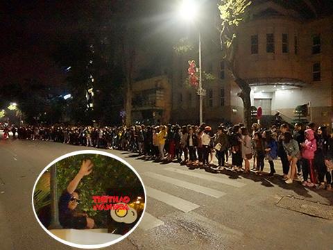 Fan Việt trắng đêm rồng rắn xếp hàng đợi Seungri