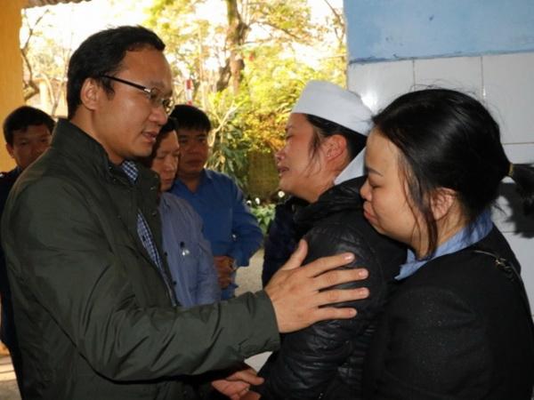 Hỗ trợ gia đình các nạn nhân vụ tai nạn giữa tàu hỏa tại Thừa Thiên - Huế