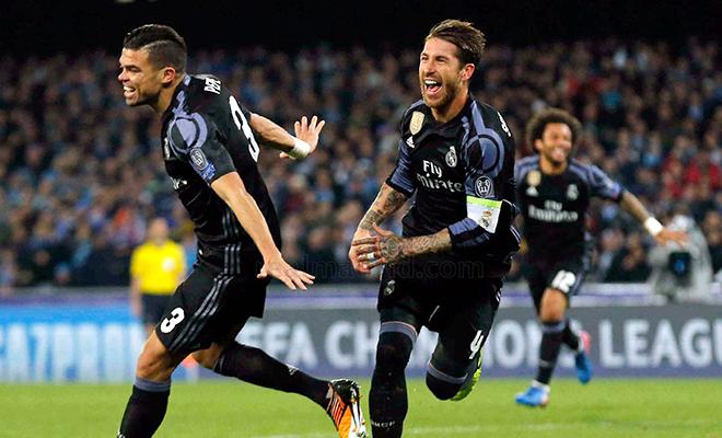 Napoli chỉ là 'gã khờ' so với Real Madrid
