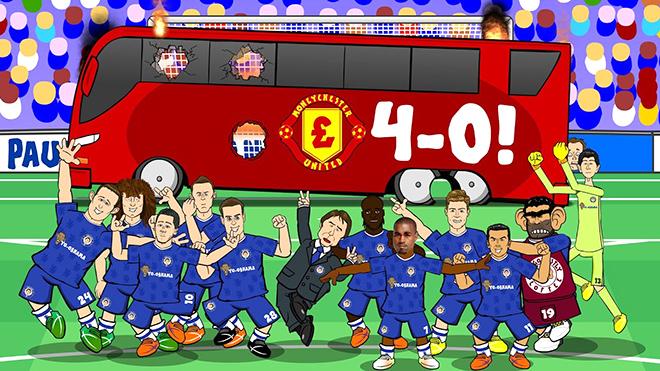 Man United vẫn luôn chịu nỗi ám ảnh Stamford Bridge
