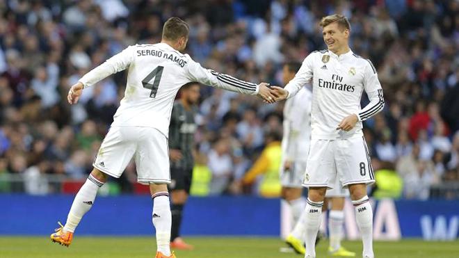Sergio Ramos hay, giỏi ghi bàn là nhờ... Kroos