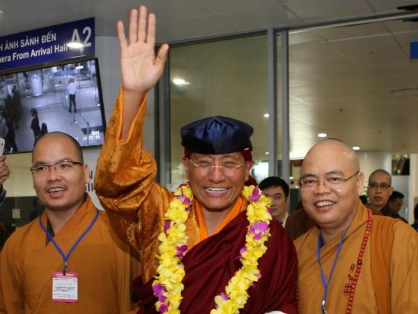 Đức Gyalwang Drukpa đến Việt Nam tham dự Ngày Văn hóa Phật giáo Ấn Độ