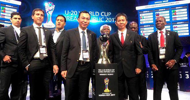 Đối thủ của U20 Việt Nam: Pháp đáng gờm. Honduras và New Zealand đầy thách thức