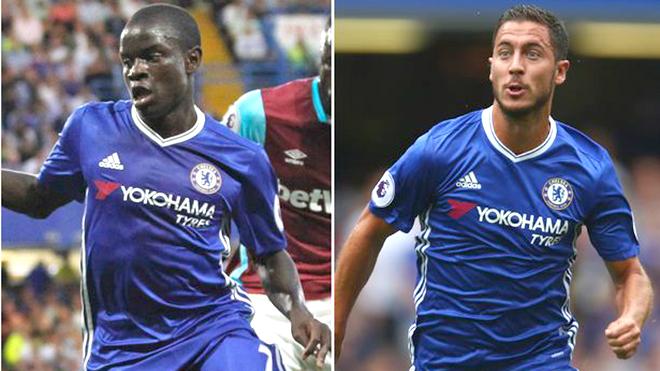 Chuyện Chelsea: Hazard & Kante, ai hơn ai?