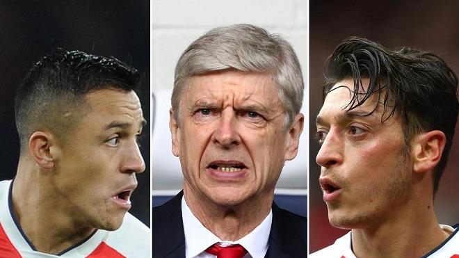 Lịch sử chỉ ra rằng Wenger rồi sẽ bán Sanchez lẫn Oezil