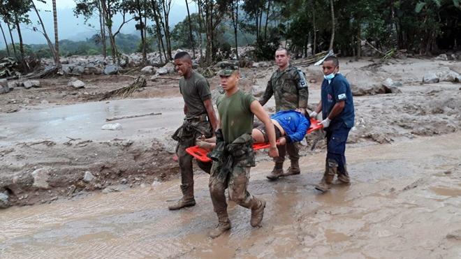 Vụ lở đất kinh hoàng ở Colombia: Số người thiệt mạng đã lên tới 254 người