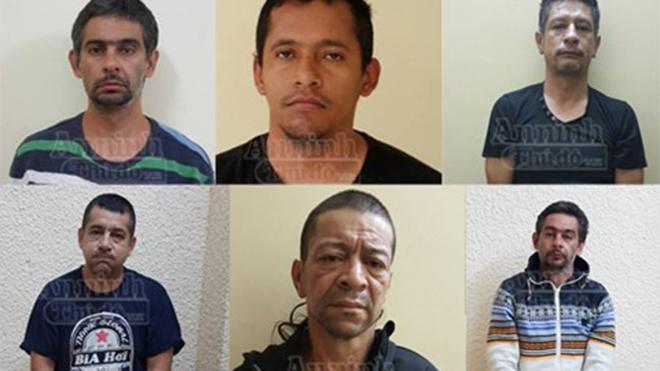 Bắt băng trộm 'khét tiếng' người Colombia chuyên thực hiện các phi vụ tiền tỷ