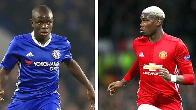Man United - Chelsea: Pogba liệu có thắng Kante?