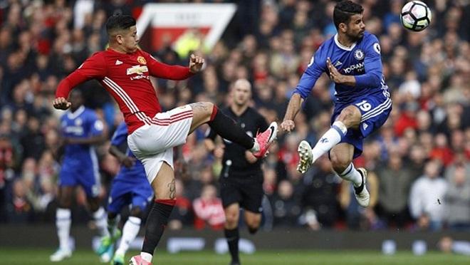 ĐIỂM NHẤN Man United 2-0 Chelsea: Mourinho thật 'đặc biệt', Man United hay khó tin. Tuyệt vời Rashford và Herrera!
