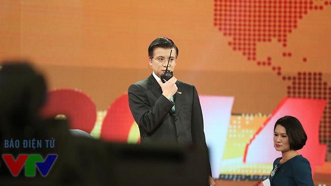 Hình ảnh hiếm thấy của Giám đốc VTV24 Quang Minh