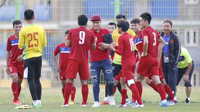 U20 Việt Nam nhận 'quà đặc biệt' trước giờ xuất trận