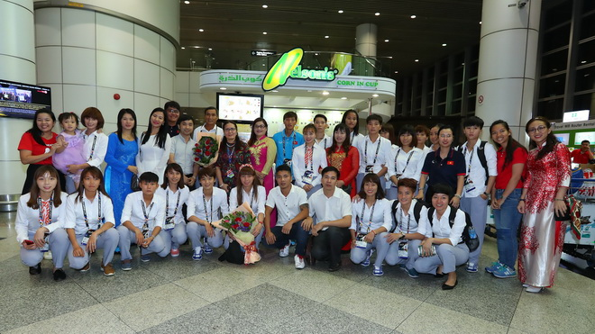 Tuyển nữ Việt Nam nhắm đến HCV SEA Games 29