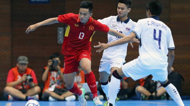 Futsal Việt Nam nhận 'thất bại kép' trước Thái Lan