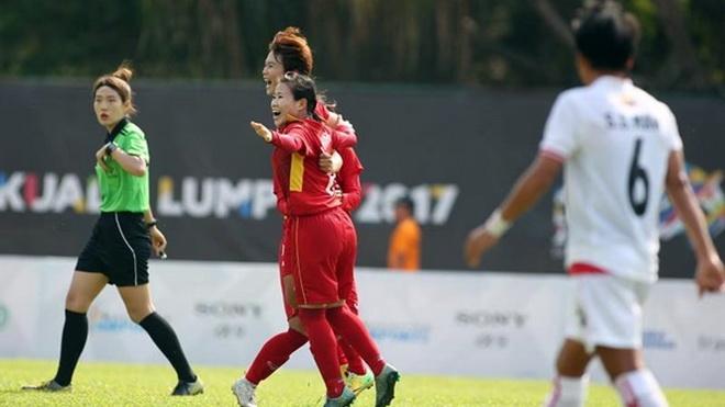 Tuyển nữ Việt Nam 'hạ đẹp' Myanmar, chờ quyết đấu Thái Lan