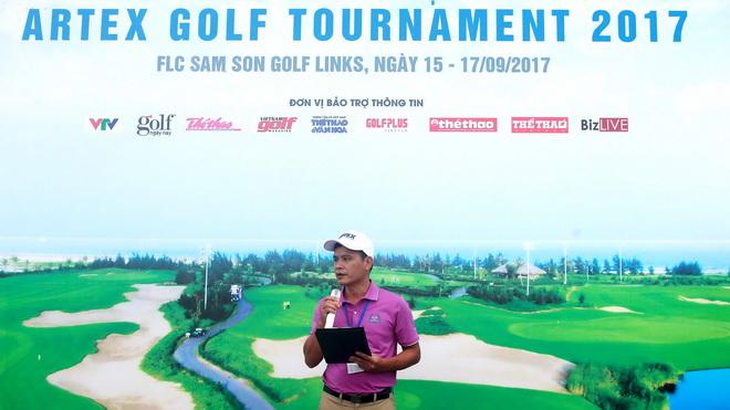 Artex Golf Tournament 2017 chính thức khai mạc tại FLC Samson Golf Links
