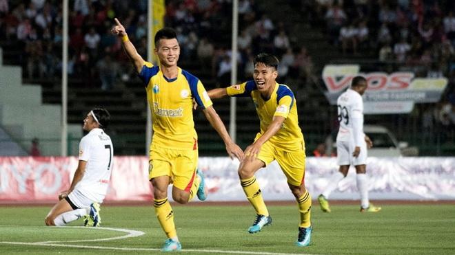 Sanna Khánh Hòa thẳng tiến bán kết Mekong Cup 2017