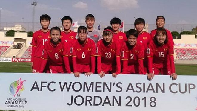 VCK bóng đá nữ châu Á: Việt Nam dốc sức thắng Hàn Quốc