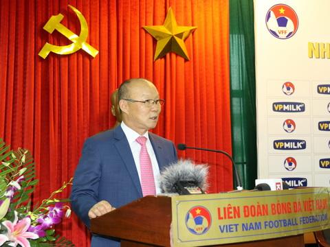 HLV Park Hang Seo: 'Mục tiêu của U23 Việt Nam là vượt qua vòng bảng ASIAD'