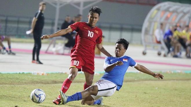 U19 Việt Nam 2-2 U19 Singapore: Rời giải trong tiếc nuối