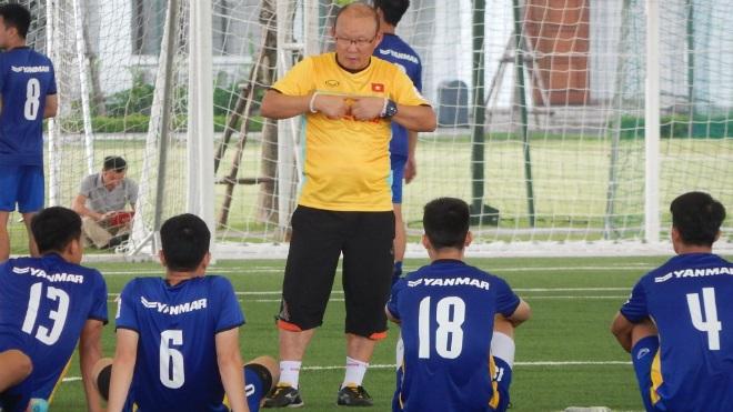 HLV Park Hang Seo: 'U23 Việt Nam sẽ đá 3-4-3, quyết thắng Pakistan'