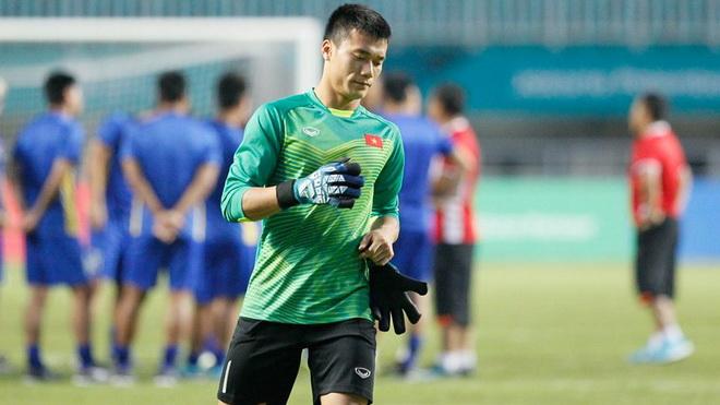Thủ môn Bùi Tiến Dũng: 'U23 Việt Nam quyết thắng Hàn Quốc trong 90 phút'
