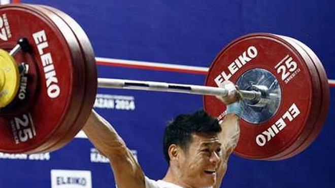 Lực sỹ Thạch Kim Tuấn bất ngờ bị kiểm tra doping