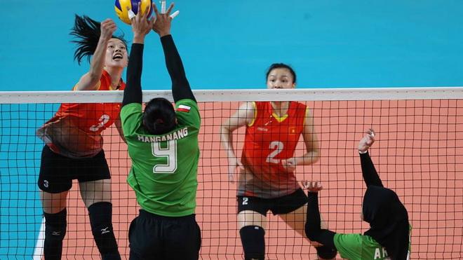 Tuyển bóng chuyền nữ Việt Nam 'trả nợ' Indonesia, quyết giành hạng 5 ASIAD 2018