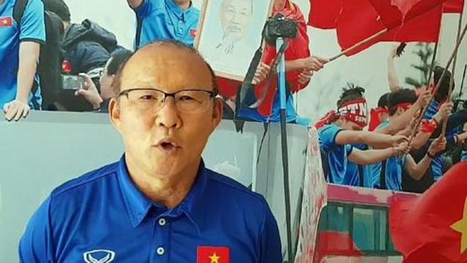 HLV Park Hang Seo: 'Tôi giao tiếp với cầu thủ bằng sự chân thành từ trái tim'