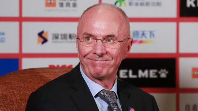 Sven Goran Eriksson có phải cú hích cho tuyển Philippines?