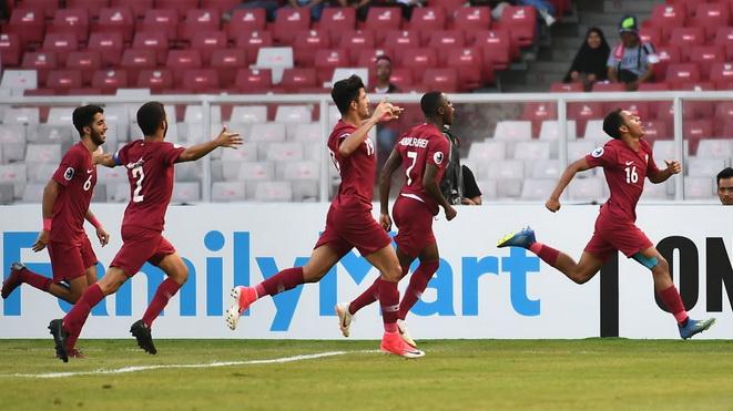 U19 Qatar 7-3 U19 Thái Lan: Sụp đổ ở hiệp phụ, U19 Thái Lan hụt vé dự U20 World Cup