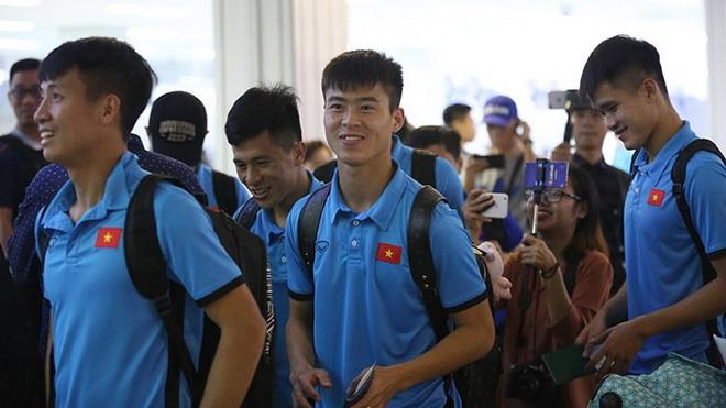 HLV Park Hang Seo cho học trò 'xả trại' 1 ngày, chiều 11/11 quay lại tập luyện