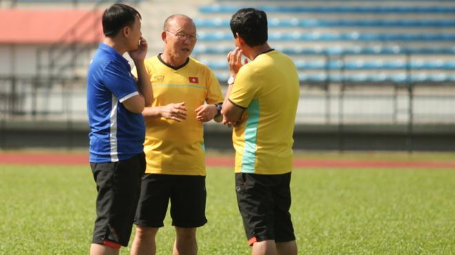 'Tuyển Việt Nam chưa thỏa mãn khi lọt vào chung kết AFF Cup 2018'