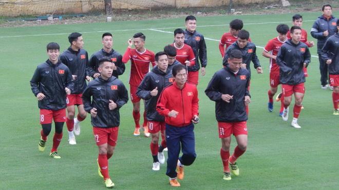 Tuyển Việt Nam tập bài lạ chờ tái đấu Malaysia