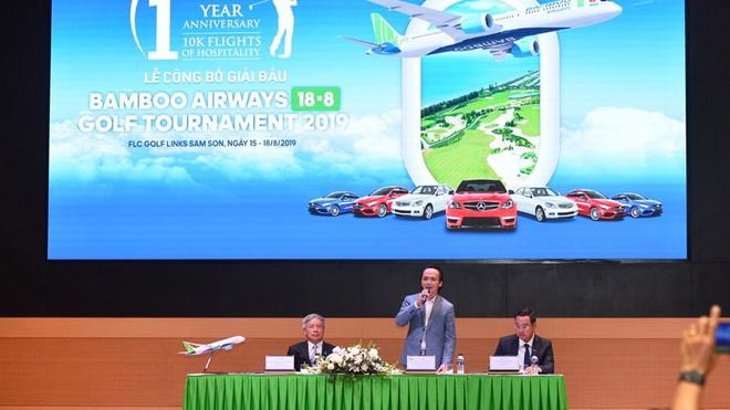 Hấp dẫn giải thưởng Bamboo Airways Golf Tournament 2019