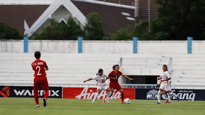 Ghi 8 bàn trong 24 phút, nữ Việt Nam đại thắng Campuchia