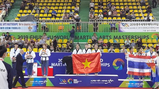 Taekwondo Việt Nam vô địch Đại hội Võ thuật thế giới