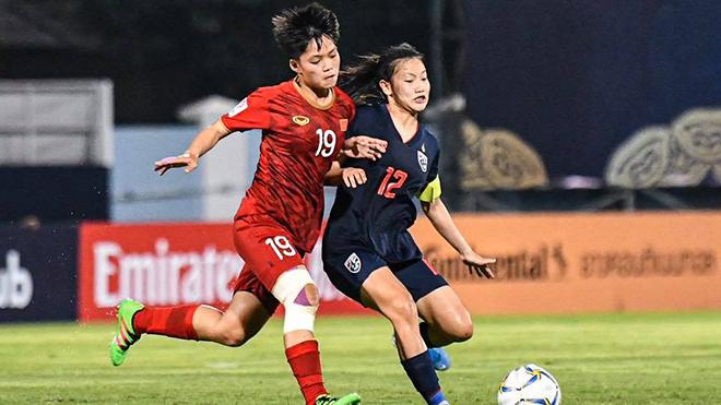 Nữ U19 Việt Nam đả bại Thái Lan ngay trên đất khách