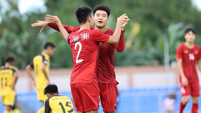 U23 Việt Nam thắng Bình Dương, Hà Đức Chinh lại ghi bàn