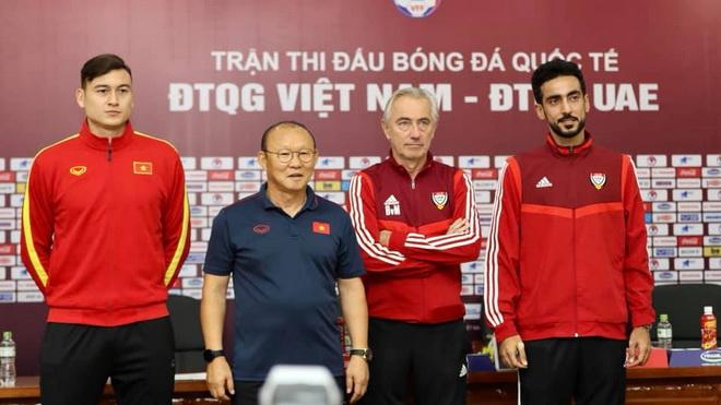 Họp báo trận Việt Nam vs UAE: UAE dành sự tôn trọng đặc biệt cho thầy trò HLV Park Hang Seo