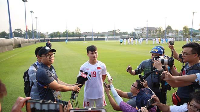 Đội trưởng Quang Hải: 'U23 Việt Nam phải quyết đoán hơn'