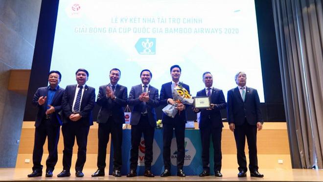 Cup quốc gia tiếp tục được Bamboo Airways tài trợ, khởi tranh vào ngày 3/4