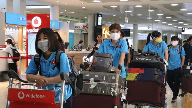 Tuyển nữ Việt Nam có mặt tại Australia, sẵn sàng cho trận play-off