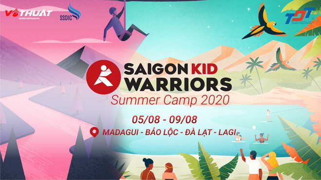 Saigon Kid Warriors Summer Camp 2020: Cơ hội trải nghiệm mùa hè theo cách độc đáo cho trẻ em