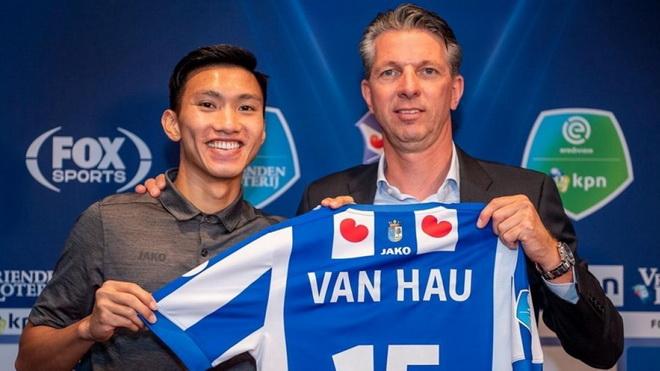 Giám đốc kỹ thuật Heerenveen: 'Văn Hậu xứng đáng có cơ hội'