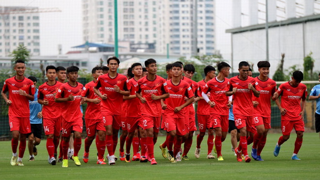 Cập nhật trực tiếp bóng đá U22 Việt Nam đấu tập: HLV Park Hang Seo chọn quân
