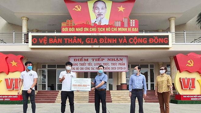 Quang Hải, Văn Hậu và những người bạn ủng hộ Đà Nẵng 300 triệu phòng chống dịch